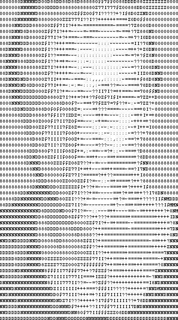 One Line Ascii Art Eyes : I splotchy dpk in ascii