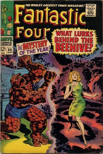 Fantastic Four #66 - First appearance of Adam Warlock!
