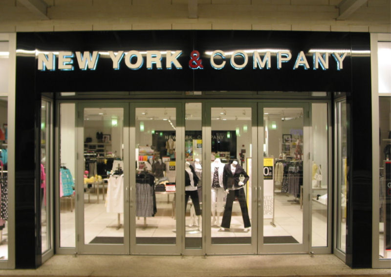 NEW YORK COMPANY CLOTHING STORE
