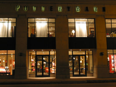 The Signage Of Negative Space Pottery Barn