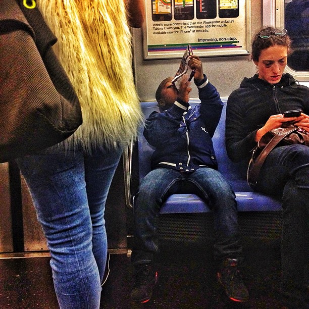 Nikki Glaser Train Candid