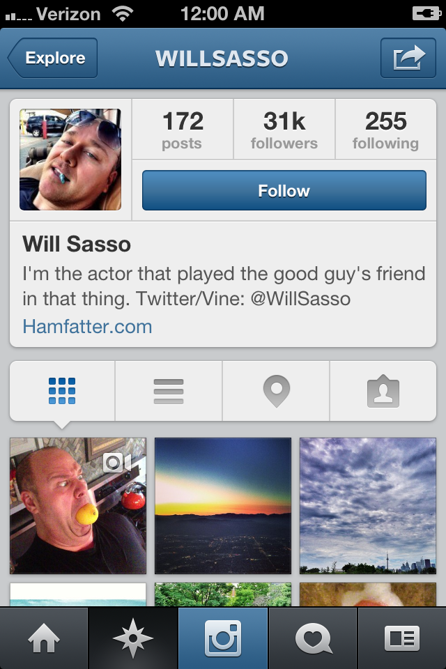 Will Sasso on Instagram - 31,000 Followers