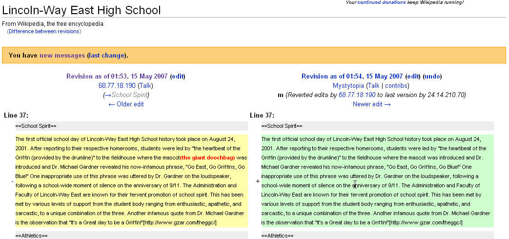funny wikipedia edits. Wikipedia allows editing by